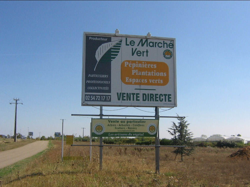 Pépinières Le Marché Vert - Horticulteur et pépiniériste à EPUISAY